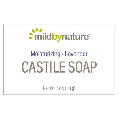 Купить Mild By Nature Кастильское мыло с ароматом лаванды, 141 г (5 унций)