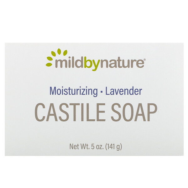 Castile Soap Bar, Lavender, 5 oz (141 g)