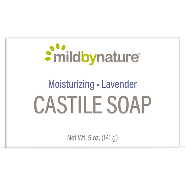 Mild By Nature, Castile Soap Bar, Lavender, 5 oz (141 g)