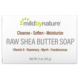 Милд бай нэйчур, Raw Shea Butter, Bar Soap, with Vitamin E, Rosemary, Myrrh & Frankincense, 5 oz (141 g) отзывы покупателей