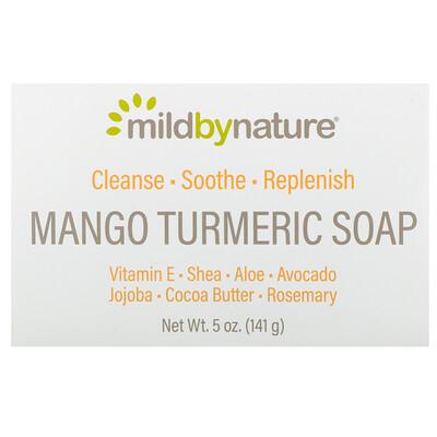 Купить Mild By Nature Мыло с манго и куркумой, 141 г (5 унций)