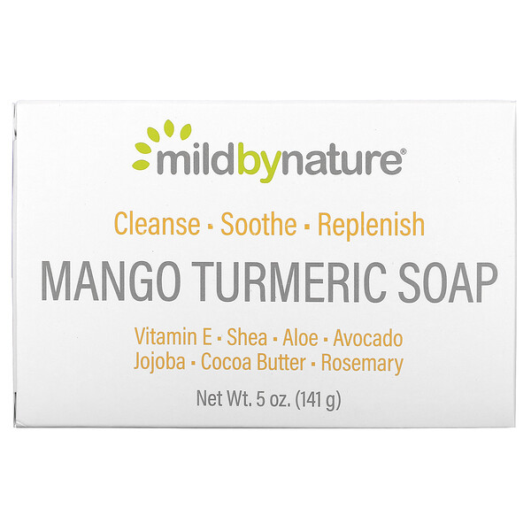 Mango Turmeric Soap Bar, 5 oz (141 g)
