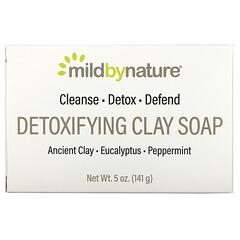 Mild By Nature, кускове мило для детоксикації з глиною, евкаліптом і м'ятою перцевою, 141г, (5унцій)