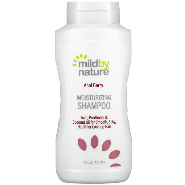 Mild By Nature,  Acai Berry Moisturizing Shampoo, 16 fl oz (473 ml)