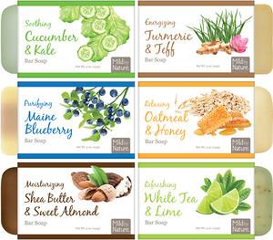 Милд бай нэйчур, Cleansing Bar Soap, Variety Pack, 6 Scents, 5 oz (141 g) Each отзывы покупателей