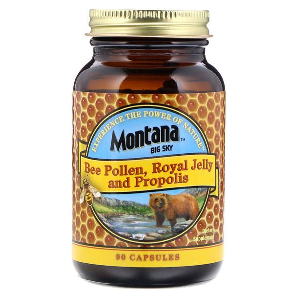 Montana Big Sky     , Bee Pollen, Royal Jelly and Propolis, 90 Capsules
