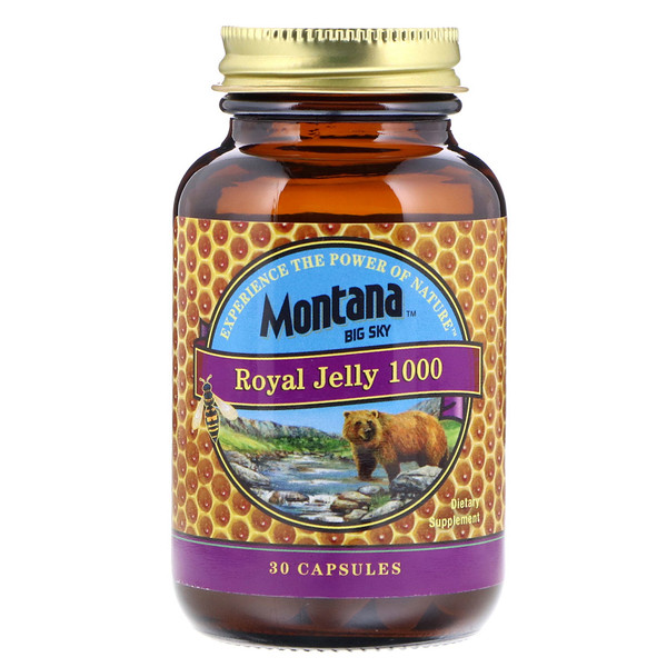 Montana Big Sky     , Royal Jelly 1000, 30 Capsules (Discontinued Item)
