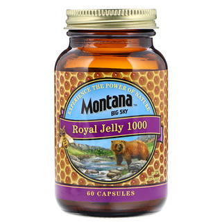 Montana Big Sky     , Royal Jelly 1000, 60 Capsules