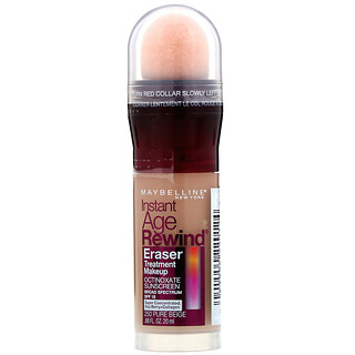 Maybelline, Instant Anti-Âge, Fond de teint et soin The Eraser, 250Pure Beige, 20ml