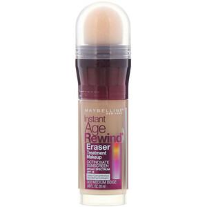 Maybelline, Instant Age Rewind, Eraser Treatment Makeup, 300 Medium Beige,  0.68 fl oz (20 ml) отзывы