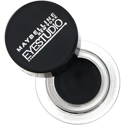 Купить Maybelline Гелевая подводка для глаз Eye Studio, Lasting Drama, угольно-черный цвет, 3г