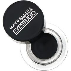 Maybelline, Eye Studio, Lasting Drama, Gel Eyeliner, Blackest Black, 0.106 oz (3 g)