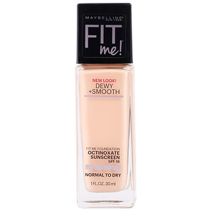 Maybelline, Fit Me, Dewy + Smooth Foundation, 115 Ivory, 1 fl oz (30 ml) отзывы покупателей