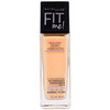 Maybelline, Fit Me, Dewy + Smooth Foundation, 220 Natural Beige, 1 fl oz (30 ml)