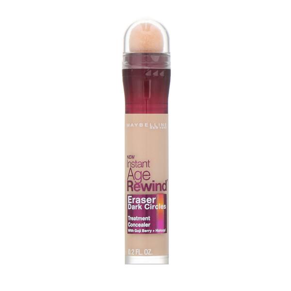 Maybelline, Instant Age Rewind, Corretivo de tratamento, Cobertura das olheiras, clara, 6 ml