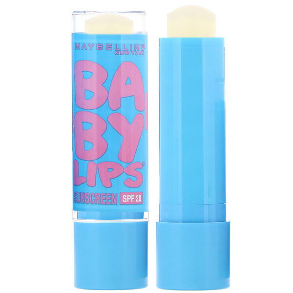 Maybelline, Baby Lips, Moisturizing Lip Balm,  SPF 20, 05 Quenched, 0.15 oz (4.4 g) (Discontinued Item)