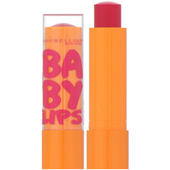 Maybelline, Baby Lips 嬰兒保濕潤唇膏,Cherry Me,0.15 盎司(4.4 克)