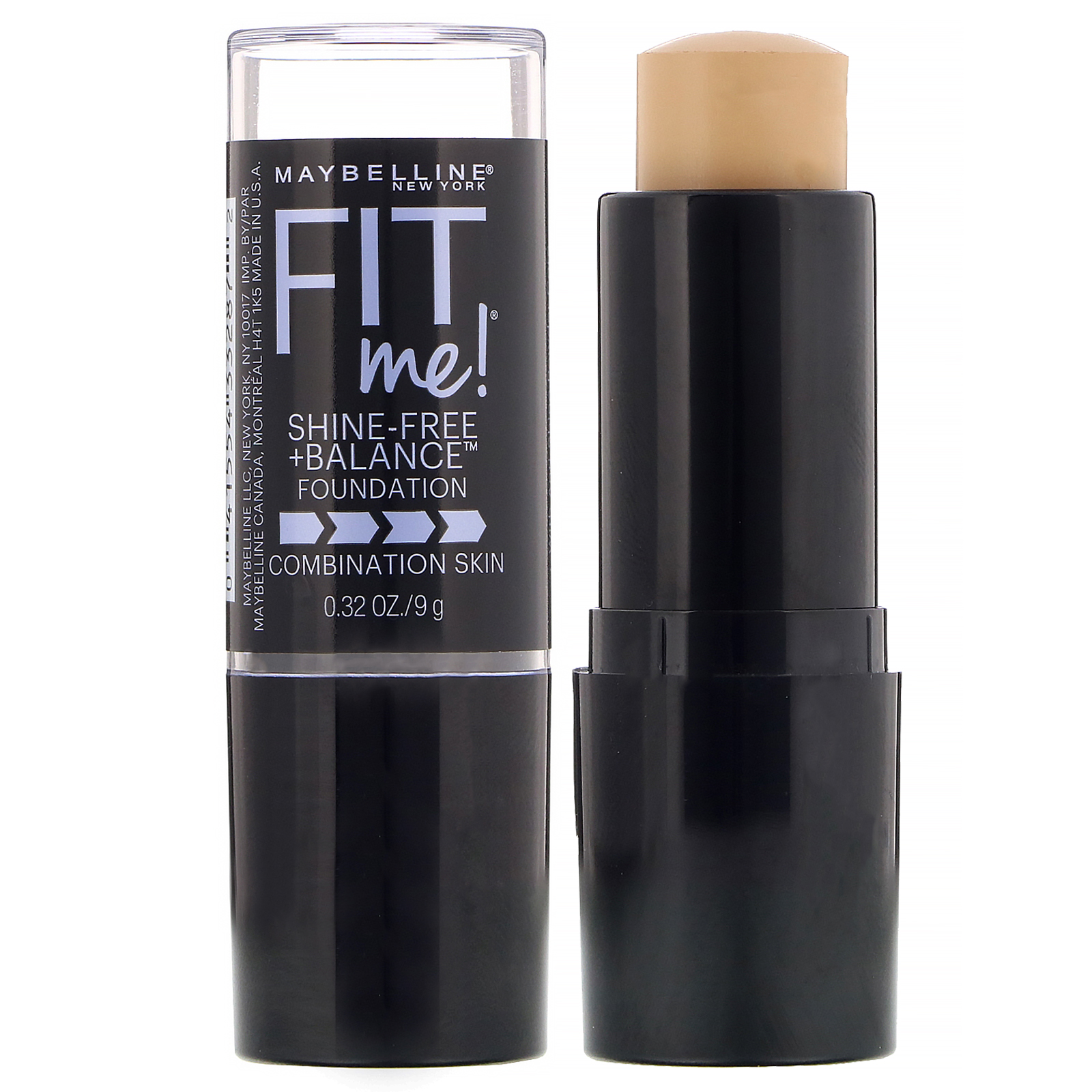 Maybelline Fit Me Shine Free Balance Stick Foundation 220 Natural Beige 0 32 Oz 9 G Iherb
