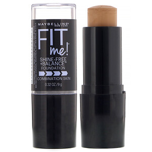Maybelline, Fit Me, Shine-Free + Balance Stick Foundation, 330 Toffee, 0.32 oz (9 g) отзывы
