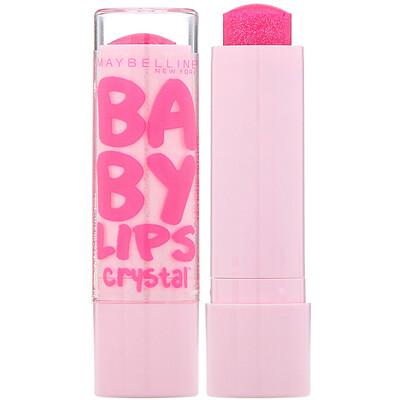 Купить Maybelline Baby Lips Crystal, увлажняющий бальзам для губ, розовый кварц 140, 4, 4 г