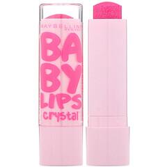 Maybelline, Baby Lips Crystal, Moisturizing Lip Balm, 140 Pink Quartz, 0.15 oz (4.4 g)