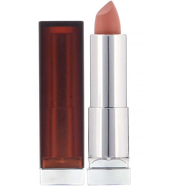 Maybelline, Color Sensational, Lápiz de labios cremoso mate, Desnudo osado, 4,2 g (0,15 oz) (Discontinued Item)