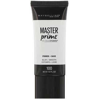 Maybelline, FaceStudio, Master Prime, Primer Base, Blur + Smooth, 1 fl oz (30 ml)