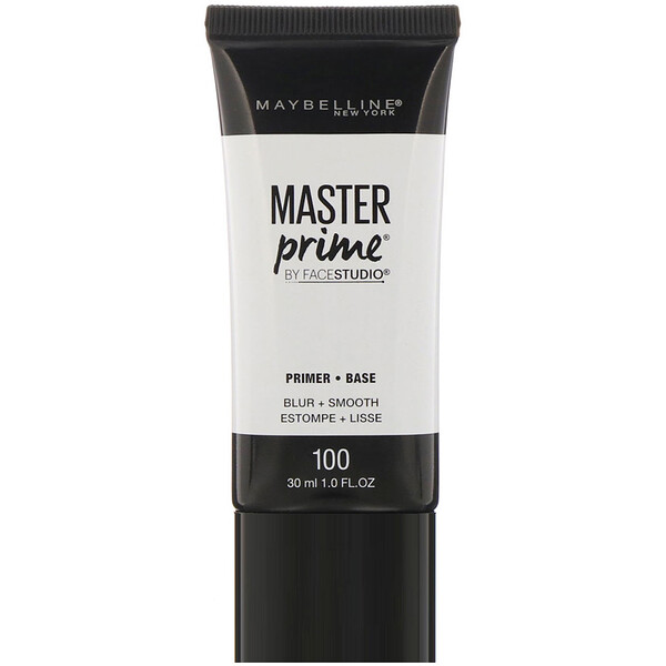 Maybelline, FaceStudio, Master Prime, Primer Base, Blur + Smooth, 1 fl oz (30 ml)