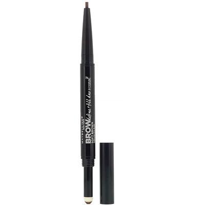 Купить Maybelline Карандаш для бровей Eye Studio + Fill Duo, оттенок 255 светло-коричневый, 500мг