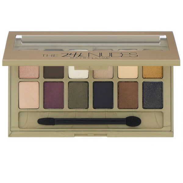 The 24K Nudes Eyeshadow Palette, 0.34 oz (9.6 g)
