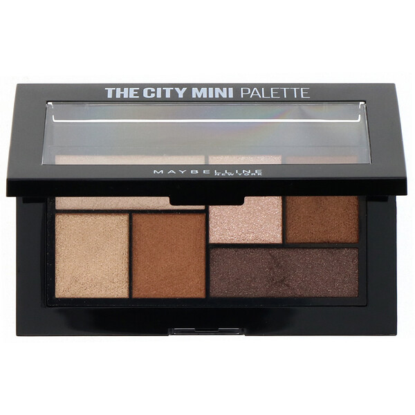 Maybelline, The City Mini Eyeshadow Palette, 400 Rooftop Bronzes, 0.14 oz (4 g) (Discontinued Item)