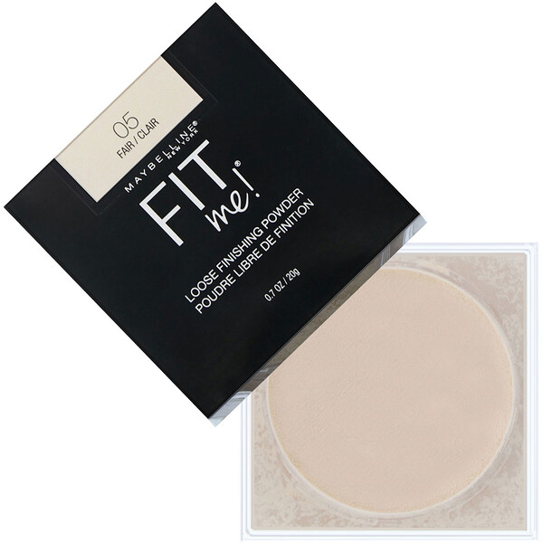 Maybelline, Fit Me, Loose Finishing Powder, 05 Fair, 0.7 oz (20 g)