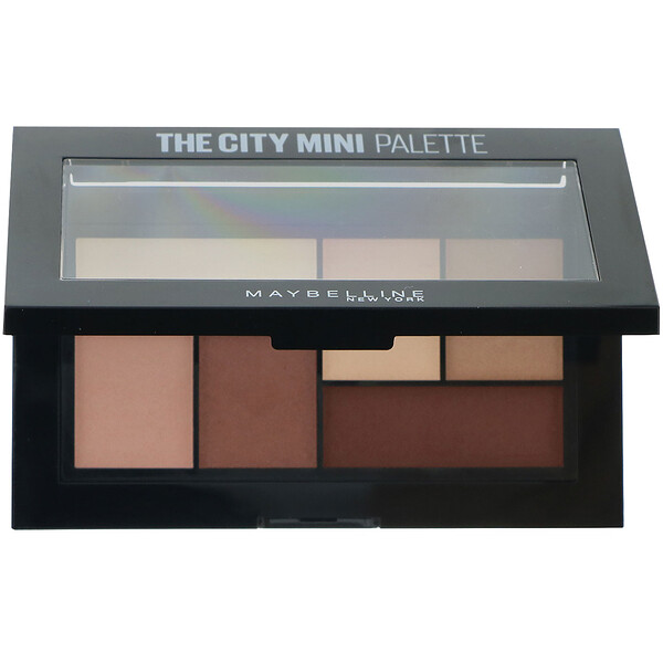 Maybelline, The City Mini פלטת צלליות, 480 Matte About Town, 4 גרם (0.14 אונקיות)