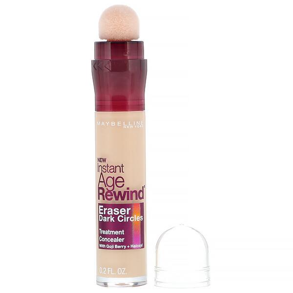 Instant Age Rewind, Eraser Dark Circles Treatment Concealer, 100 Ivory, 0.2 fl oz (6 ml)