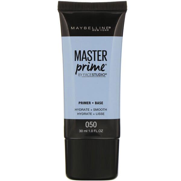 FaceStudio, Master Prime, Primer Base, 050 Hydrate + Smooth, 1 fl oz (30 ml)