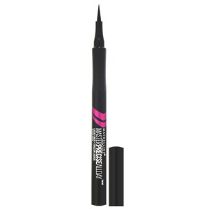 Maybelline, Eye Studio, Master Precise, All Day Liquid Eyeliner, 110 Black, 0.034 fl oz (1 ml) отзывы покупателей
