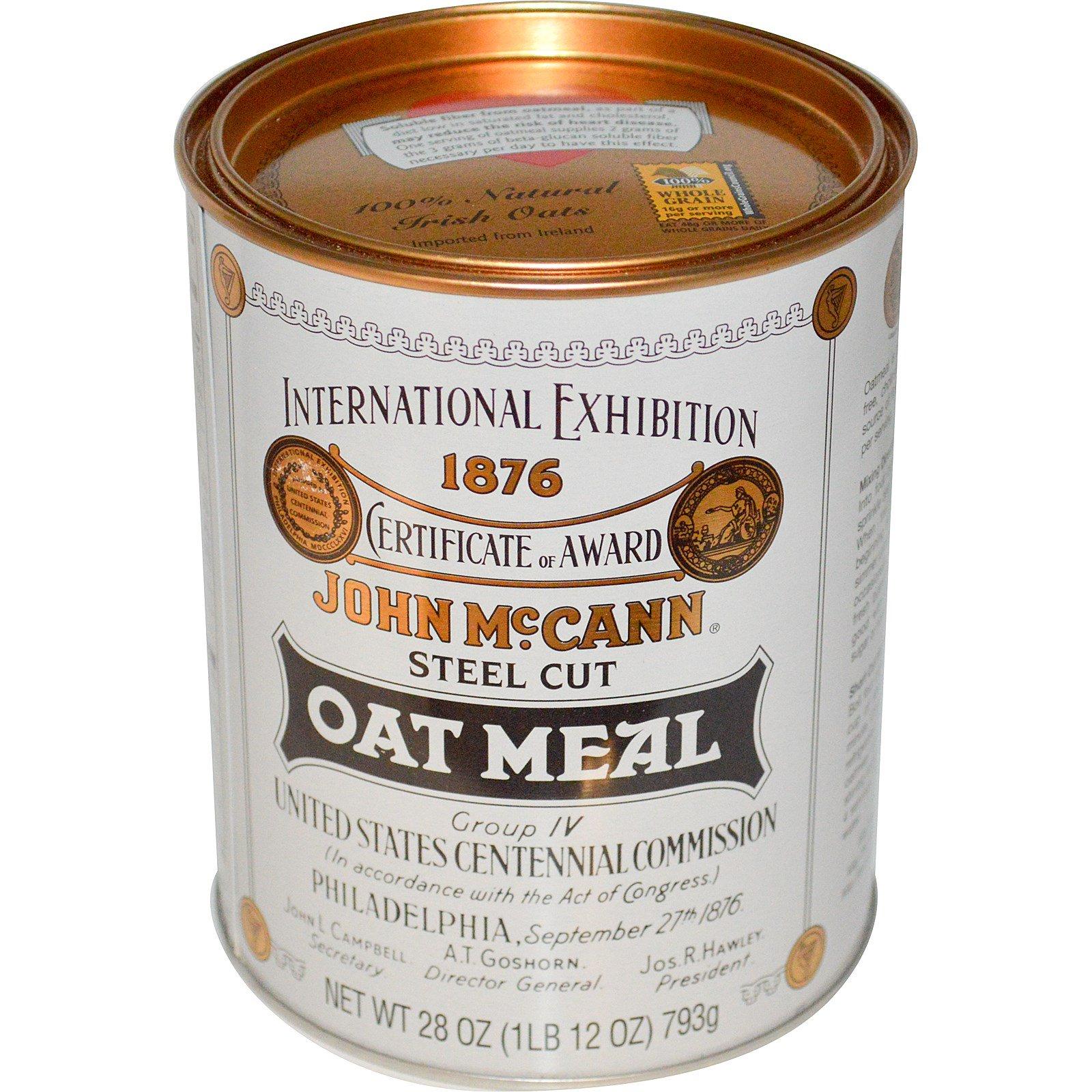 McCann's Irish Oatmeal, Измельченная овсянка, 28 унций (793 г)