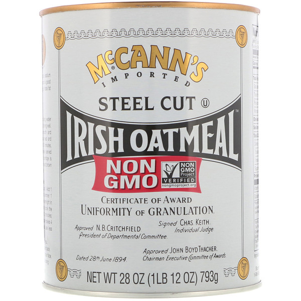 McCann's Irish Oatmeal, Steel Cut Oat Meal, 28 أوقية (793 ج) (Discontinued Item)