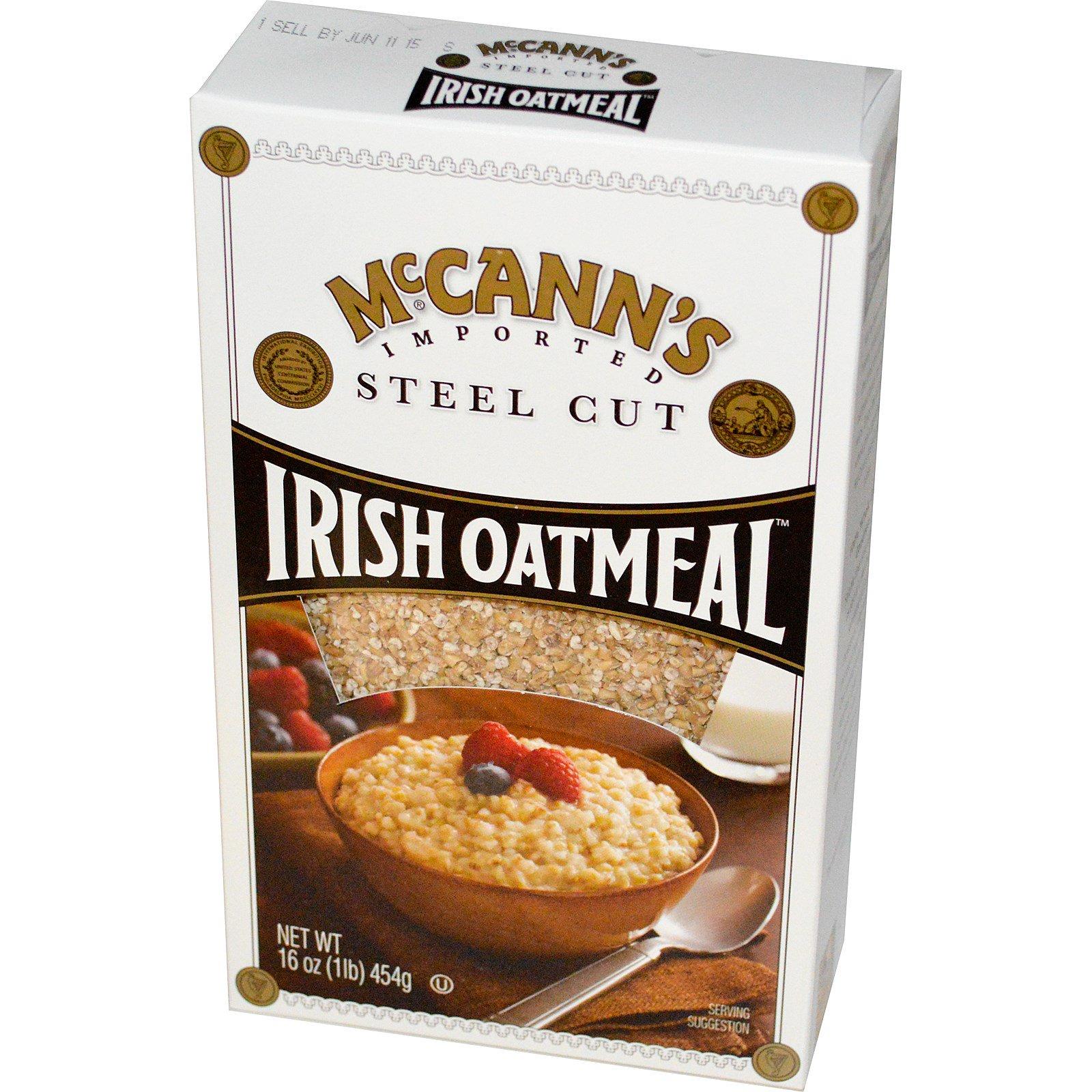 McCann's Irish Oatmeal, Дробленый овес, 16 унций (454 г)