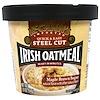 McCann's Irish Oatmeal, Quick & Easy Steel Cut, Коричневый Кленовый Сахар, 1,9 унции (54 г)
