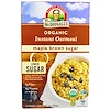 Dr. McDougall's, Organic Instant Oatmeal, Maple Brown Sugar, 8 Packets, 1.3 oz (38 g) (Discontinued Item)