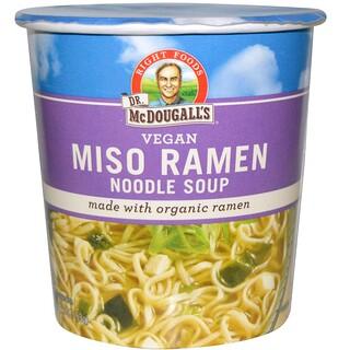 Dr. McDougall's, Miso Ramen Noodle Soup, 1.9 oz (53 g)