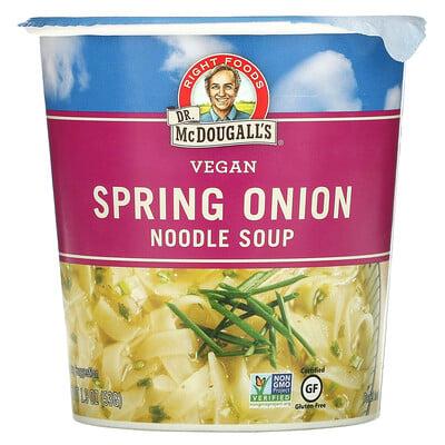 Dr. McDougall's Vegan Spring Onion Noodle Soup, 1.9 oz (53 g)