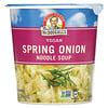 Dr. McDougall's, Vegan Spring Onion Noodle Soup, 1.9 oz (53 g)