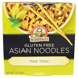 Dr. McDougall's, Азиатские макаронные изделия, тайская лапша, 2 унции (56 г)