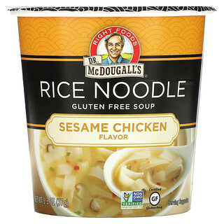 Dr. McDougall's, Rice Noodle, Sesame Chicken, 1.3 oz (37 g)