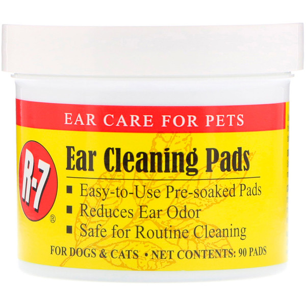 Miracle Care, Ear Cleaning Pads, For Dogs & Cats, 90 Pads (Discontinued Item)