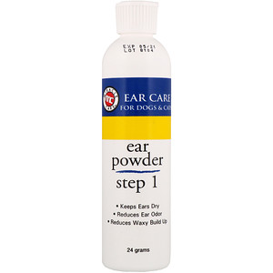 Miracle Care, Ear Care, Ear Powder, For Dogs & Cats, Step 1, 24 g отзывы