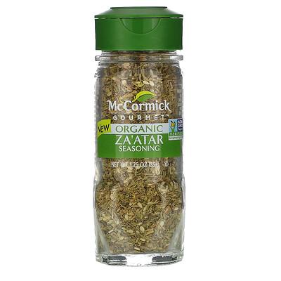 Купить McCormick Gourmet Za'atar Seasoning, 1.25oz (35 g)