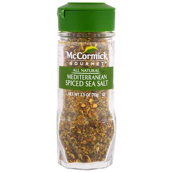 McCormick Gourmet, 全天然,地中海香料海鹽,2、5盎司(70克) (Discontinued Item)